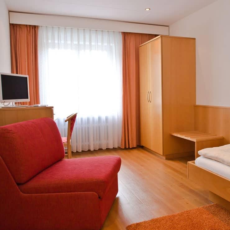 Gartenhotel-Feldeck-Einzelzimmer-Komfort